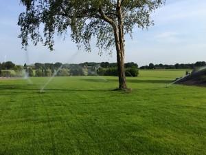 voor tuin golfbaan