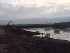 aanleg bassin proceswater